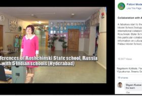 Collaboration with a Russian School