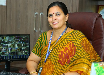 Ms. T. Tanjua - Principal of Pallavi Model School - Boduppal
